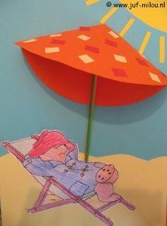 Knutselen Paddington met parasol