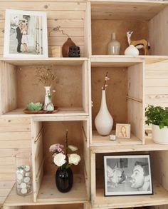 DIY Rustic Bookcase | DIY Bookcase Made Of Old Drawers | Shelterness