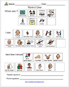 Miss Allison's Class: Think It Over---UPDATED with FREEBIE!!