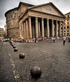 El Panteón, Roma.
