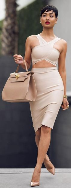 All Nude Everything  Minimalistic Fall Inspo by Micah Gianneli #all
