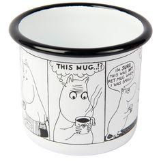 Muurla Moomin Shop Mug Comic - Limited Edition Muurla Tove Jansson, Christmas Gifts, Comics, Shopping, Home Decor, Holiday Gifts, Homemade Home Decor, Christmas Presents