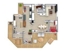 RoomSketcher 3D Floor Plan (3)