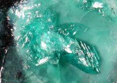 Leogangite.Colour:green with a bluish tint.Co-type Localities:Magnesite mine, Inschlag Alp, Schwarzleograben, Hütten, Leogang, Saalfelden, Salzburg, Austria. Daniel adit, Schwarzleo District, Schwarzleograben, Hütten, Leogang, Saalfelden, Salzburg, Austria.