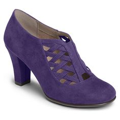 Aerosoles Head Role | Women's - Purple Fabric - FREE SHIPPING at OnlineShoes.com