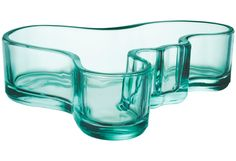 aalto mini bowl by iittala Alvar Aalto, Glass Tray, Design Museum, Dark Teal, Home Interior, My Favorite Color, Scandinavian Design, Mint Green, Decorative Bowls