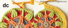 Circles of the Sun Mystery CAL 2015 - overlay crochet - Block 5 #free crochet pattern by LillaBjornCrochet