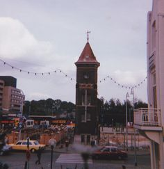 Bron: Privé collectie | Station Heerlen in oktober 1985