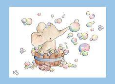 Elephant Bubble Bath.
