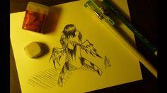 BleedingHeart - Speed Drawing - Traditional Media