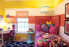 Can you believe this is a dorm room dressed in Vera Bradley?