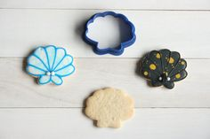 Etsy のScallop sea shell cookie cutter(ショップ名:TheCookieCutterLand)