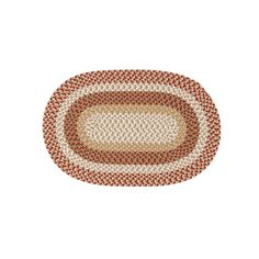 Shenandoah Braided Reversible Indoor Outdoor Rug, Red, SH70R108X144