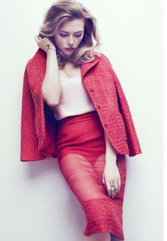 Scarlett Johansson by Txema Yeste - Marie Claire, May 2013