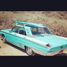 surf car surfboard