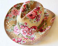 Como decorar chapéu de palha para Festa Junina 002 Cabelo Para Festa Junina 809266784b3