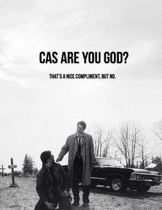 cas r u god?  yes  yes he is