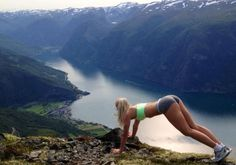 Everyone bragging about Sweden having beautiful girls, I think Norway is just as good Girls In Yoga Shorts, Yoga Pants, Motivational Photos, Morning Pictures, Morning Pics, Cool Landscapes, Hot Yoga, Going Crazy, Nice View