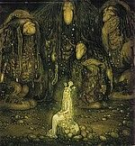 John Bauer - The Swedish fairytale painter (1882-1918)    John Bauer the Mountain king  The magic and fantasy of John Bauer is extraordinary. His world of princesses, brownies, trolls and giants is for ever in the hearts of children all over the world.