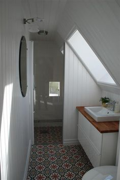 Small Bathroom Designs Slanted Ceiling annebeth holthuis (a_holthuis) on pinterest