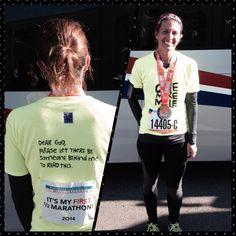 "Elissa: ""Just registered for my 2nd Columbus half marathon! #CMnation."" South Vienna, OH"