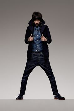 Autumn/Winter 2013 Campaign 'RAW' - Sergio Pizzorno shot by Rankin