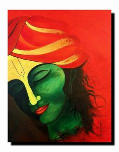 What's the size and price if we need to buy? Oil Pastel Art, Oil Pastel Drawings, Cool Art Drawings, Flower Painting Canvas, Diy Canvas Art, Mural Painting, Abstract Face Art, African Art Paintings, Ganesha Painting