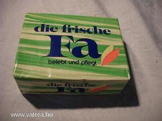 1970-ig a Fa-szappan olyan érték volt, hogy még zálogkölcsönt is fizettek érte