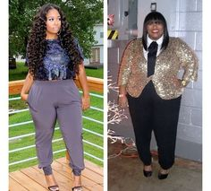 This morning my heart smiled when I came across this photo on my feed. It depicts a before and after weight loss transformation of one of our plus size bloggers , Brittany Coleman from the blog www.pocketsandbows.blogspot.com. What Ive notice since I started this blog, is when it comes to the topic of plus size women and health, society would have you to believe that the two can't coexist. Brittany is a prime example that this is false , weve left below what her inspiration was to start her…