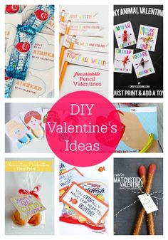 20 DIY Valentine's Ideas -love these!