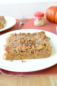"This pumpkin cake recipe is truly the epitome of ""dump and go."" To make Incredibly Easy Pumpkin Dump Cake, all you need to do is throw yellow cake mix and a few other ingredients into a baking dish and pop it in the oven."