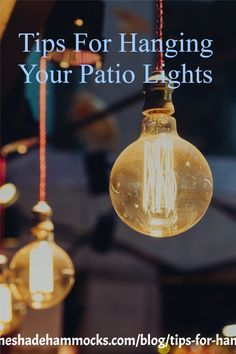 One way to add pop to your backyard living space is to add a set of patio lights. Get some insights and tips on how you can add some value to your patio area or backyard. #patiolights