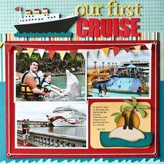 Nancy Damiano-Cruising Along LO #vacationscrapbook