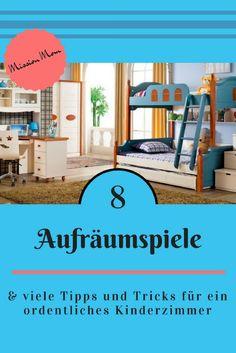 Aufräumen im Kinderzimmer eine Horrorvorstellung? Muss nicht sein! Viele Tipps für Ordnung und Organisation im Kinderzimmer .