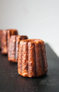 Canelés De Bordeaux French Rum And Vanilla Cakes Recipe - Euro cuisine bordeaux