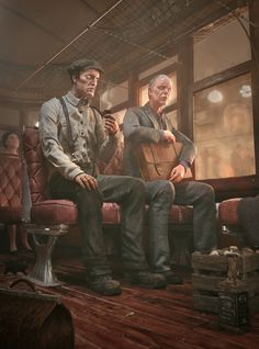 Bus to Innsmouth by Alberto Trujillo | Fantasy | 3D | CGSociety