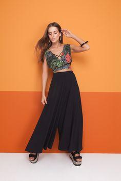 bc2d7f7b1 1415 melhores imagens de Calças | Ladies fashion, Classy outfits e ...