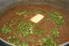 Caribbean lentils