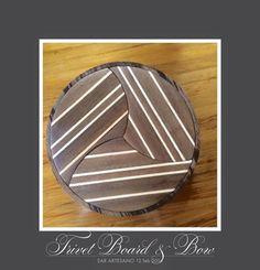 Walnut & Ash Trivet Boards & Lazy Susan Bowl by EAR ARTESANO www.earartesano.com