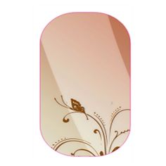 peach butterfly   Jamberry Soft tones and silhouette of a pretty butterfly. #jamberry #nailwraps #diymanicure #fun #beautiful #jamberrynails #joyfilledjamberry #sweet #peach #butterfly