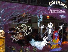 Coffeeshop Amsterdamned Haarlemmerstraat Amsterdam.