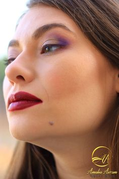 Glam look for green eyes, Makeup look, makeup addicted, love makeup, beauty blogger, Glam Girl, Glam UP! Red cherry lips