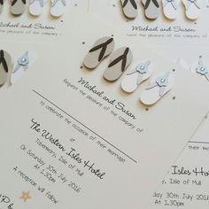 Starfish Beach Themed Wedding Information Cards Beach Themed