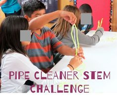 """The Pipecleaner (aka """"Fuzzy Sticks"""") Challenge is one of my favorite STEM activities to introduce students to STEM learning. This is a fun, inexpensive, and engaging challenge that can be tailored to different ages, settings, and time-frames.  This challenge is also an excellent team icebreaker."""