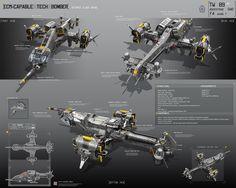 ECM-Capable tech bomber by Alexey Pyatov