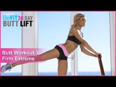 Click Here for your 30 Day Butt Lift 30 Day Calendar Workout Plan! Butt Workout 3: Firm Extreme from 30 DAY BUTT LIFT is a concentrated butt and lower body-sculpting workout that combines strength-building moves with ballet-inspired exercises to target tone the legs, abs, and all 3 of the major glute muscles to re-shape an...