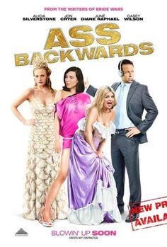 Geriye Dogru - Ass Backwards - 2013 - WEBRip Film Afis Movie Poster