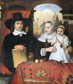 'Willem van der Helm With His Wife And Son', Barent Fabritius (1624 – 1673, Dutch)
