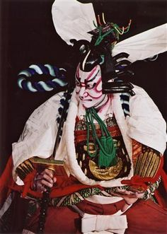 Teater Kabuki : teater, kabuki, Kabuki, Ideas, Kabuki,, Japanese,, Japanese, Culture