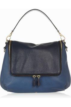 Anya Hindmarch|Maxi Zip leather satchel|NET-A-PORTER.COM